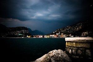 Thunderstorm @Gardasee, Italy