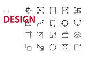 80 Design UI icons