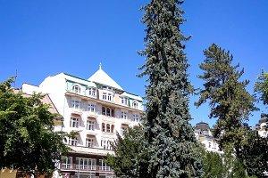 Resort park in Marianske Lazne