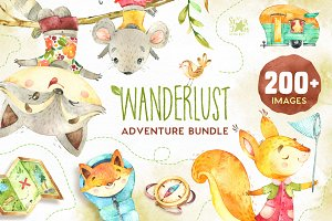 Wanderlust. Adventure bundle!