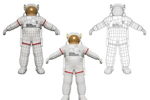 Astronaut space man cosmonaut