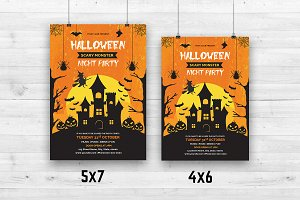 Halloween Party Flyer V634