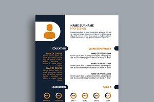 Resume/CV - v030
