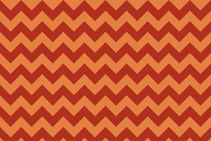 Seamless chevron orange pattern