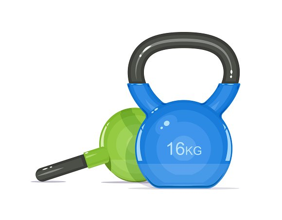 Kettlebells Equipment For Fitness
