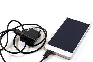 Smart phone and charger