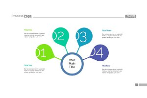 Four Steps For Success Slide Template