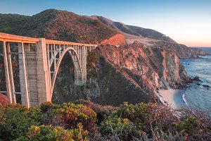 Bixby Creek Bridge in Big Sur