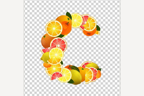 Vitamin C Letter