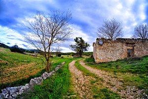 Forgotten rural track