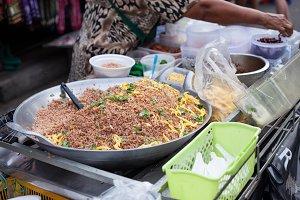 Food fried rice.