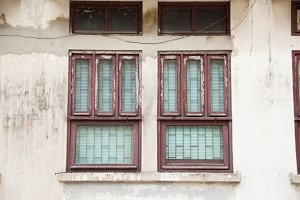 Old window.