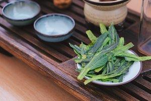 Premium Taiping Hou Kui Green Tea