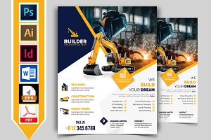 Construction Flyer Template Vol-01