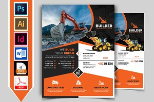 Construction Flyer Template Vol-02