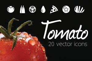 TOMATO - vector icons