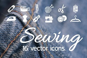 SEWING - vector icons