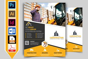 Construction Flyer Template Vol-08
