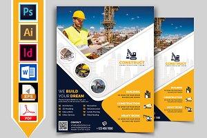 Construction Flyer Template Vol-09