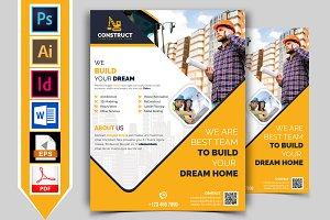 Construction Flyer Template Vol-10