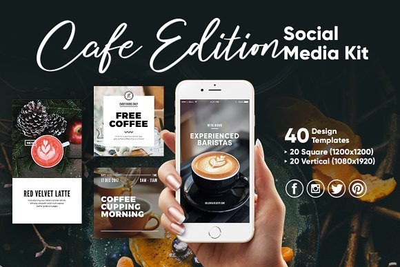 Cafe Edition Social Media Kit