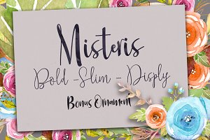 Misteris (3 Styles+Ornmt)
