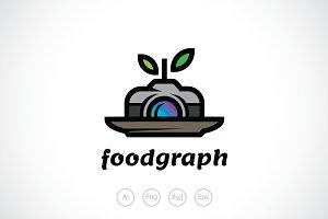 Culinary Photography Logo Template