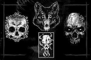 Skull Head Designs