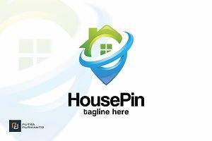 House Pin - Logo Template
