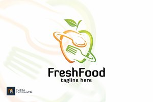 Fresh Food - Logo Template
