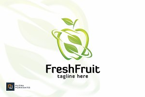 Fresh Fruit - Logo Template