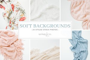 Soft Backgrounds Styled Stock Bundle
