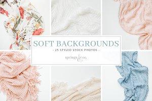 Soft Backgrounds Styled Stock Bundle