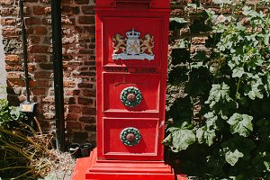 Red old post office