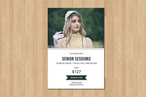 Senior Mini Session Template-V635