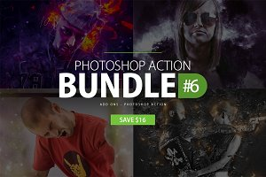 Photoshop Action Bundle #6