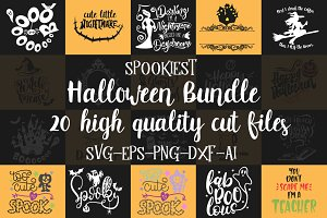 Halloween Bundle SVG PNG DXF EPS