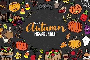Cozy Autumn MegaBundle - 60% OFF!