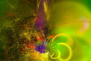 Beautiful Fantasy Abstract
