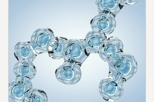 Molecule of Water.