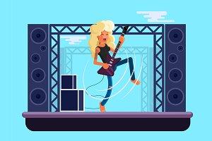 Lady Rockstar