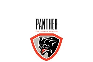 Panther Home Security Solutions Logo