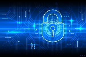 Digital information security concept