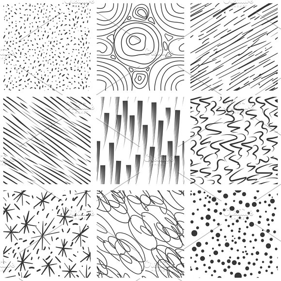 Abstract seamless texture patterns