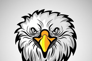 American eagle head logo
