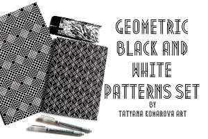 Geometric Black and White Patterns