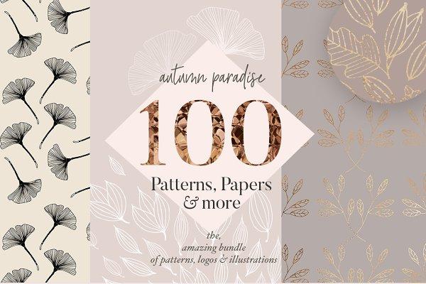 Subtle Gold Patterns & Illustration…