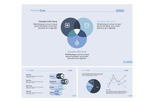 Three Economics Slide Templates Set