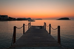 sunrise in Ibiza