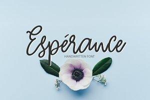 Esperance | Handwritten Font